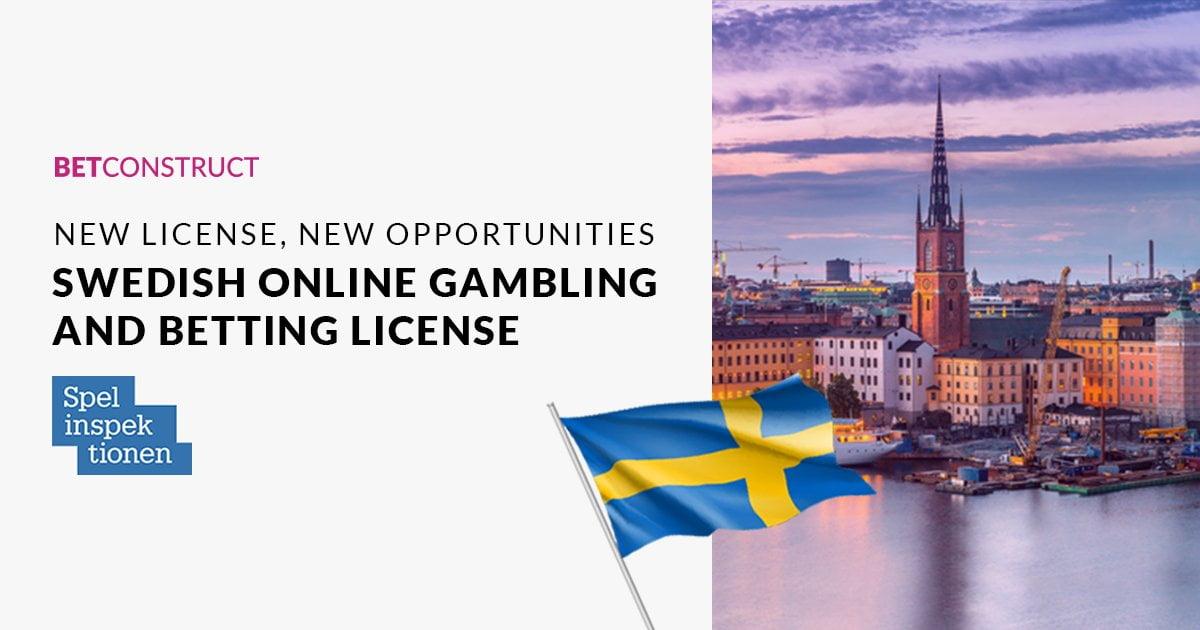 BetConsruct Receives Spelinspektionen Online Gambling Licence