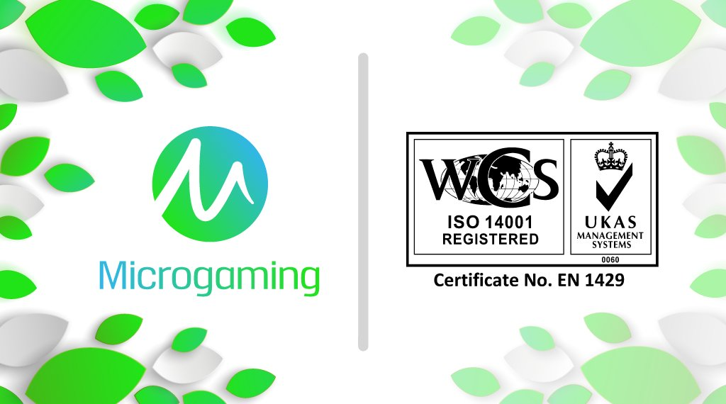 Microgaming Gains Significant Milestone With ISO 14001 Certification