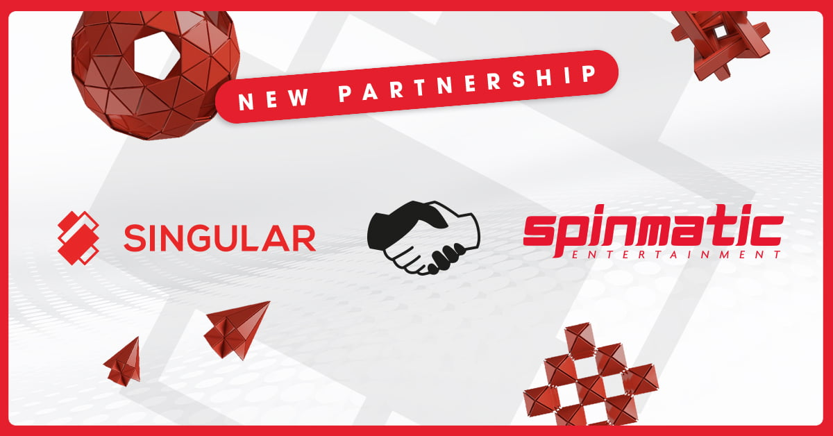 Spinmatic Signs Slot Games Deal With Singular