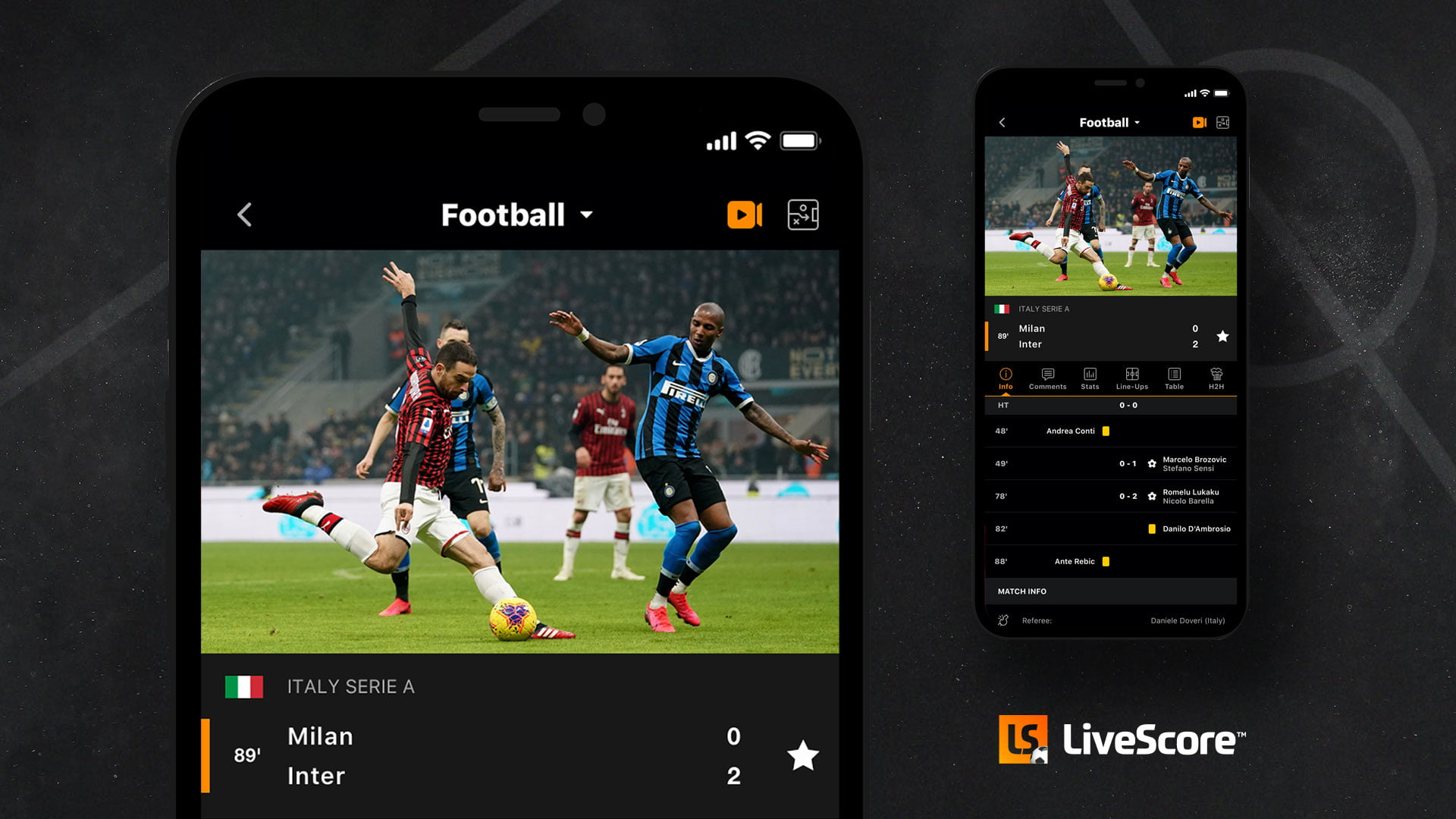 LiveScore To Launch First Streaming Service With Serie A