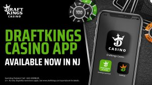 DraftKings Standalone Casino App Makes New Jersey Debut