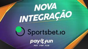 Brazil's Pay4Fun Integrated On Sportbet.io
