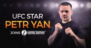 KamaGames Signs Deal With UFC's Petr Yan