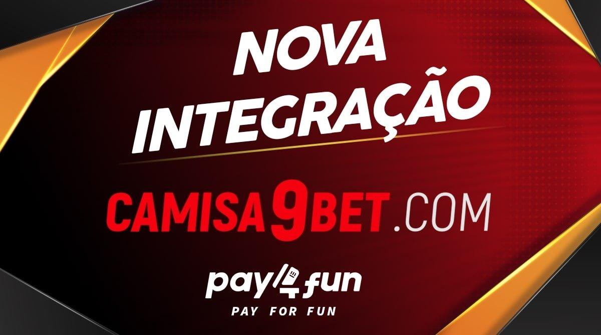 Pay4Fun And Camisa9bet.com Team Up
