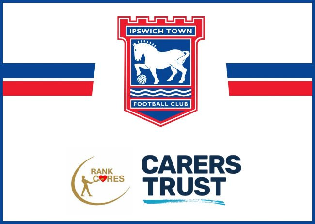 Rank Group Gifts Sponsorship Of Ipswich Town FC To Carers Trust