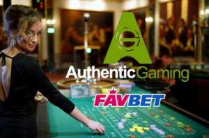 Authentic Gaming Inks Live Roulette Deal With FavBet