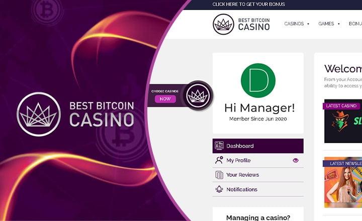 BestBitcoinCasino.com Launch 'Manage Casino' On Platform