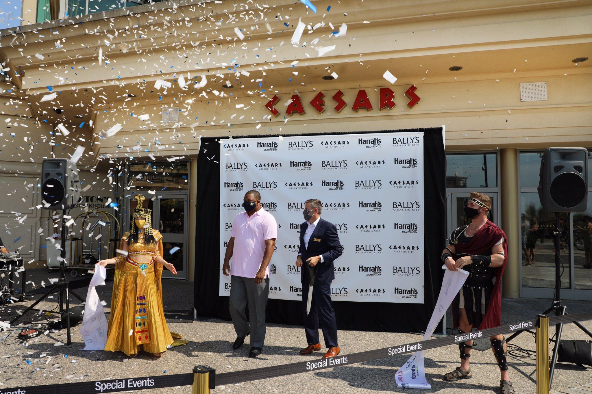 Caesars Returns With Ribbon-CuttingCeremony