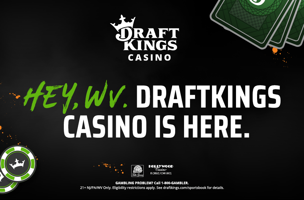 DraftKings Continues App Casino Rollout In West Virginia