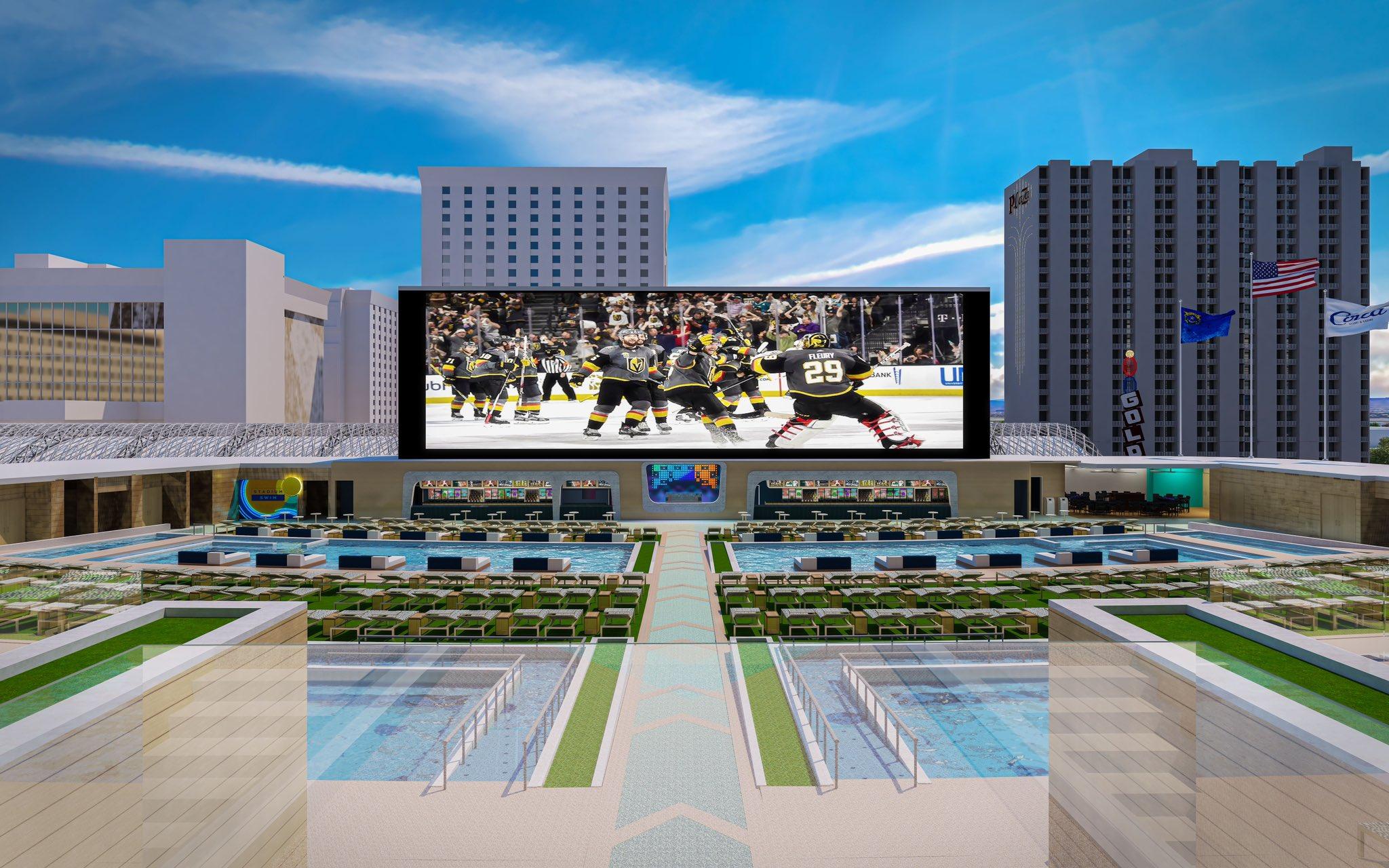 Circa Las Vegas To Open Multi-Level Pool Amphitheatre