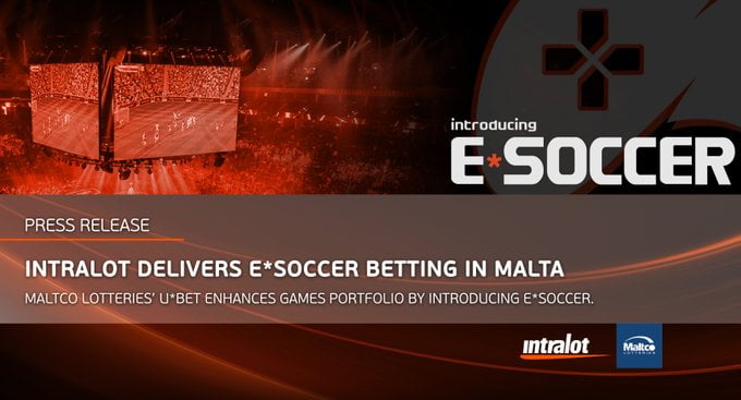 Intralot's Subsidiary Maltco Lotteries Expands Porfolio With E*SOCCER