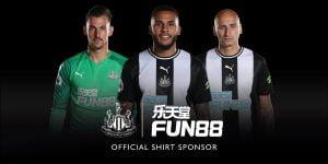 NUFC Extends Fun88 Commercial Partnership