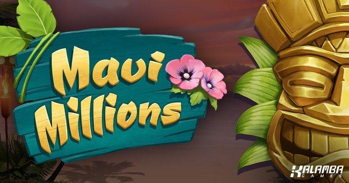 Kalamba Games Release Hawaiian Summer Slot Maui Millions