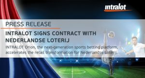 Intralot Subsidiary Signs Deal With Nederlandse Loterij