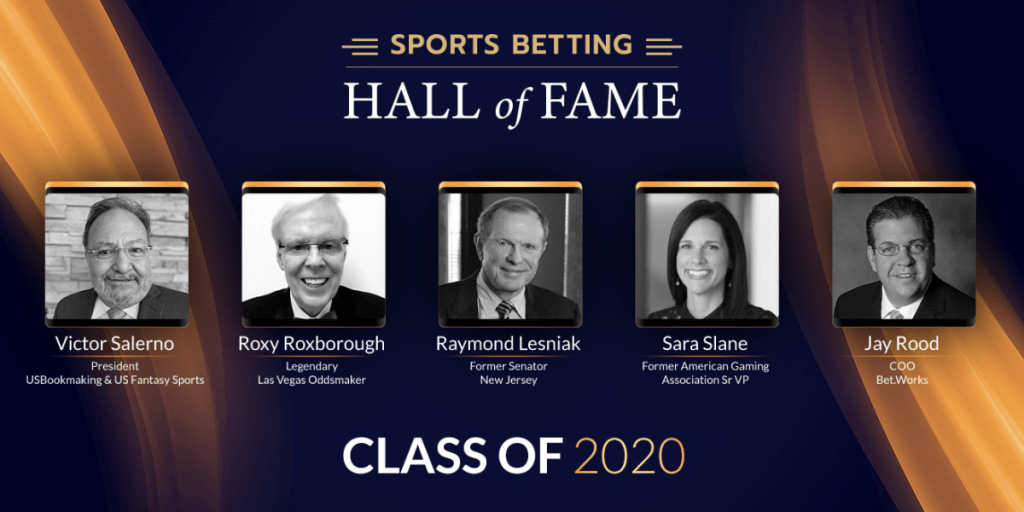 SBC Digital Holds Virtual Ceremony For Sports Betting Hall of Fame Class of 2020