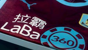 Burnley FC Announce LaBa360 Sponsorship Deal