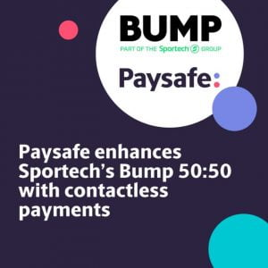 Paysafe Extends Payment Service For Sportech's Bump 50:50