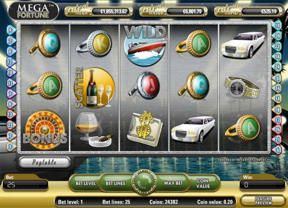 Svenska Spel Sport & Casino Player Wins Record-Breaking Jackpot On NetEnt's Mega Fortune