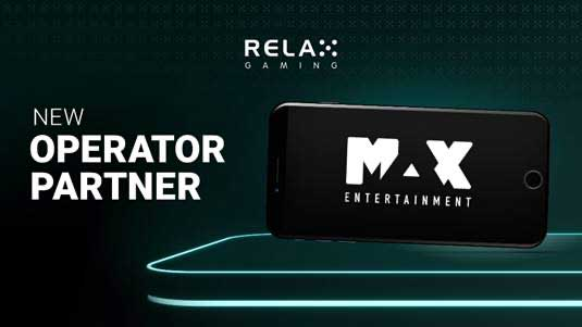 Relax Gaming Teams Up With Max Entertainment In Distribution Deal