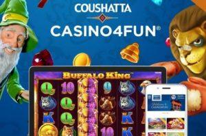 Coushatta Casino Hires Rush Street's Casino4Fun Social Gaming