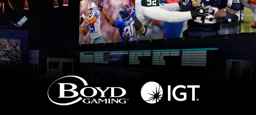 IGT Announce Boyd Gaming To Use PlaySports Tech In Las Vegas