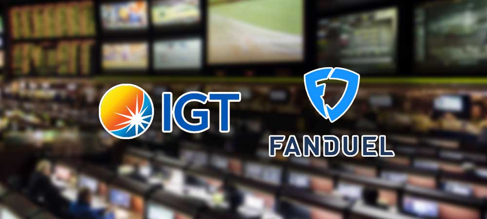 IGT Signs Deal With FanDuel To Power All US Sportsbook