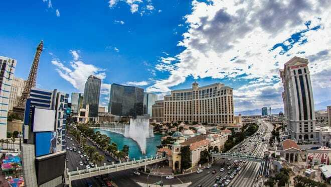 Visitor Traffic Down 70.5% Across Las Vegas
