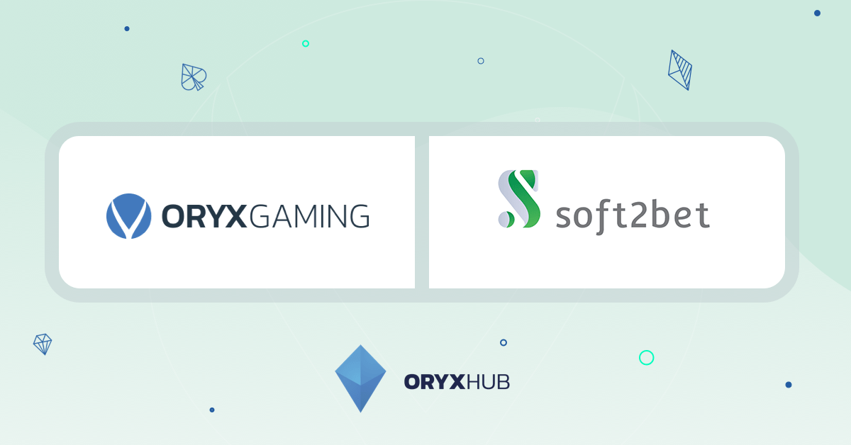 Oryx Gaming Content To Be Available Through Soft2Bet