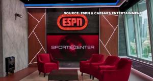 ESPN Studio Goes Live At Caesars' LINQ In Vegas