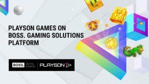 Boss Gaming Debuts Intergration Agreement Alongside Playson