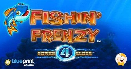 Blueprint Gaming Improves Fishin Frenzy Slot Introducing Power Mode