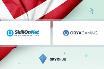 Oryx Gaming Makes Danish Break With SkillOnNet Distribution Deal
