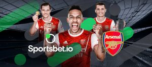 Sportsbet.io Signs Arsenal FC Official Betting Agreement