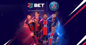 22BET Enters Sponsorship Deal With Paris Saint-Germain