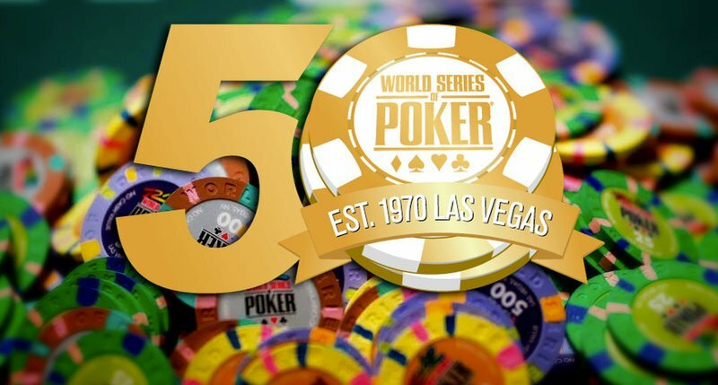 WSOP To Celebrate 50th Anniversary With Online Event