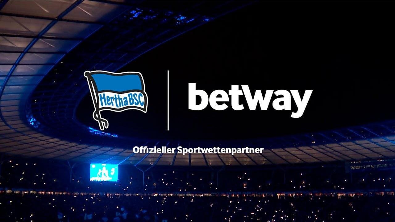 Betway Confirmed As Exclusive Hertha Berlin Betting Partner