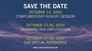 AGA And Reed Release Global Gaming Expo Virtual Event Dates