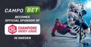 CampoBet Appointed Sweden's Champions Hockey League Official Sponsor