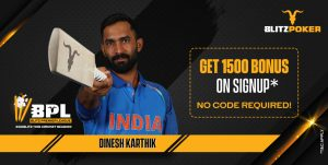 Dinesh Karthik Links Up With i3Interactive For Blitz PL