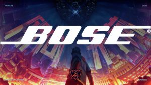 Bose To Become Official Headphone Partner Of League Of Legends