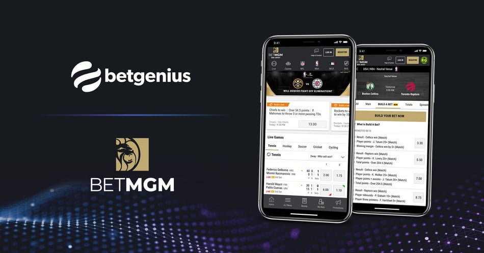 BetMGM And Genius Sports For US Sports Launch Parlay Builder