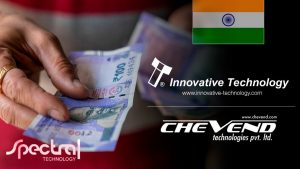 Increasing Cash Payments Protected By Spectral Technology In India