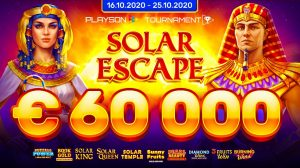 Playson Launch Network Tournament Solar Escape
