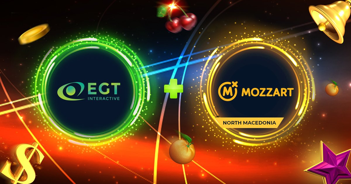 EGT Interactive Signs With MozzartBet For Macedonian Entry