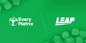 EveryMatrix Announce CasinoEngine Expansion Through Leap Gaming