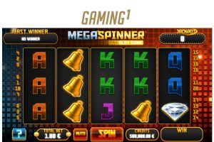 Gaming1 Premieres Latest Mega Spinner Video Slot