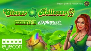 Playtech In Partnership With Eyecon Studio Release Clover Rollover 2