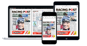 The Racing Post Introduces QR Code Scheme