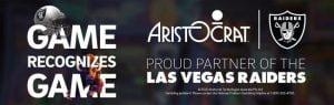 Aristocrat Becomes Las Vegas Raiders Official Partner