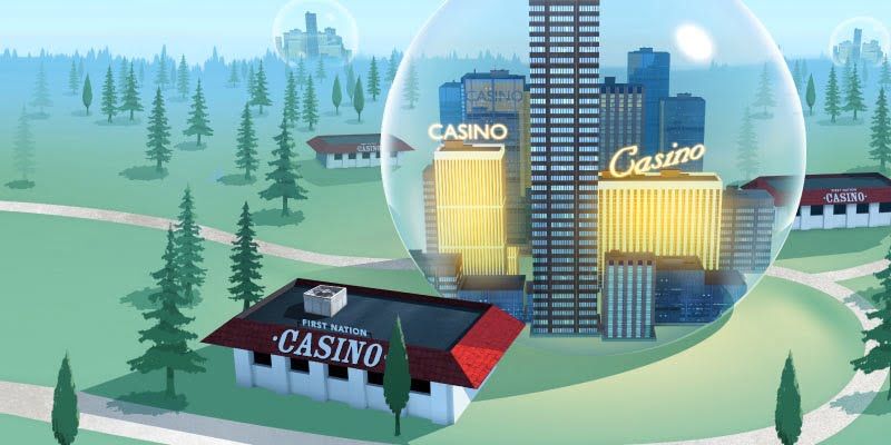 Fraser Institute Urges Policymakers To Aid First Nations' Casino Efforts